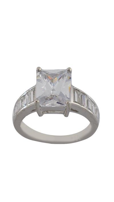Δαχτυλίδι Vogue ασήμι 925 με λευκά κρύσταλλα 127076.1 9368e170a92