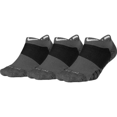 Nike - Nike Dry Cushion No Show Training Sock (3 Pair) SX5571-010. - ΜΑΥΡΟ  ΛΕΥΚΟ ea809f6f83e