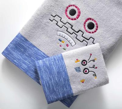 3d6a56cd02c Βρεφικές Πετσέτες Σετ (2 Τεμ) Robo -Tiny Nima