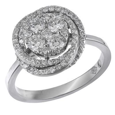 Γυναικείο δαχτυλίδι με μπριγιάν 18K 031617 031617 Χρυσός 18 Καράτια e7dfecd71fa