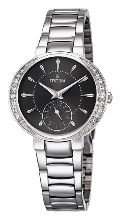 Ρολόι Festina Modemoiselle με ασημί μπρασελέ και ζιργκόν F16909 2 6c3b5078610
