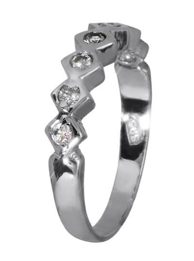 Λευκόχρυσο δαχτυλίδι 14K 008726 008726 Χρυσός 14 Καράτια e9a39575173