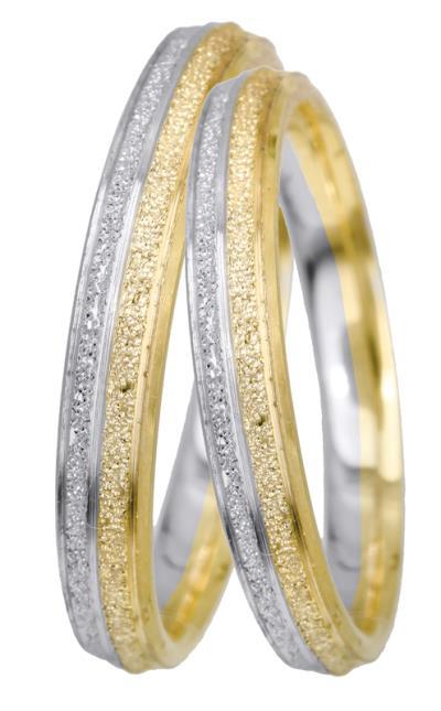 Βέρες γάμου Κ14 BRS0945D BRS0945D Χρυσός 14 Καράτια μεμονωμένο τεμάχιο deb195331b9
