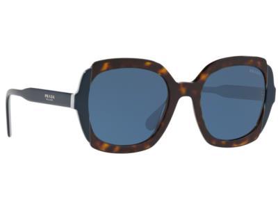 Γυαλιά ηλίου Prada SPR 16US W3C 1V1 Μπλε Καφέ Ταρταρούγα Μπλε (W3C 1V1)  Πολυκαρβ c46ad9d22af