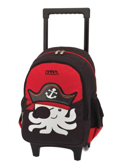 35f5c8fd9a Σχολική τσάντα POLO νηπίου τρόλεϋ ANIMAL JUNIOR PIRATE 9-01-008-72 (2018)