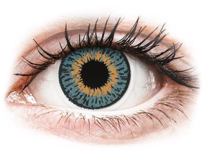 6a3d50fd82 Expressions Colors Blue - Μη διοπτρικοί Μηνιαίοι φακοί επαφής (1 φακός)