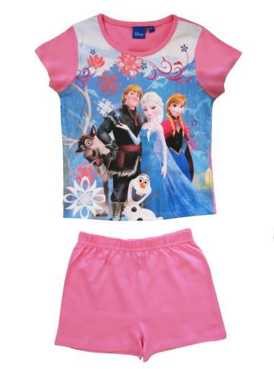 72b8b80044e Πυτζάμα παιδική καλοκαιρινή Frozen Disney 2157p