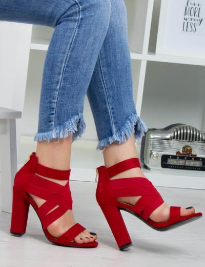 2a5b8024018 γυναικεία κοκκινο huxley \u0026amp; grace 39 37 - Totos.gr