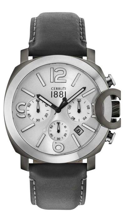Ρολόι Cerruti Positano χρονογράφος με μαύρο λουράκι CRA181SUS04BK 3746f7ebe79