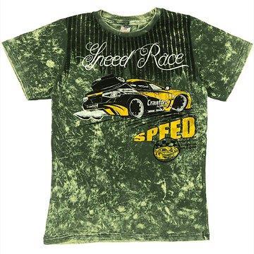 07a2a04ed1d4 Waxmen παιδική μπλούζα «Green Speed»