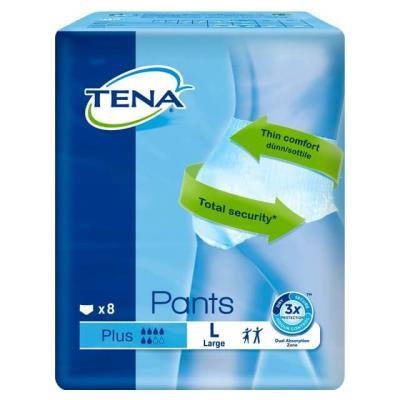 Tena Pants Plus Άνετες και Αξιόπιστες Πάνες - Εσώρουχα - Large 8τεμ 64cc5ef6455