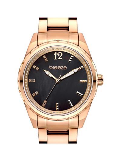 BREEZE Estelle Crystals Rose Gold Stainless Steel Bracelet 210921.6 (BREEZE)  - 9 af6f2ac27b1