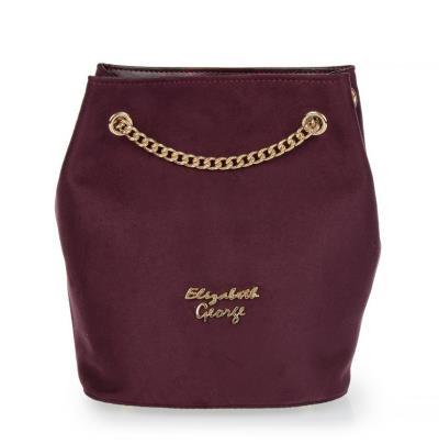 Γυναικεία τσάντα χιαστή Veta 809-2 Elizabeth George series σε μπορντώ χρώμα  έως 1e87f0a3290