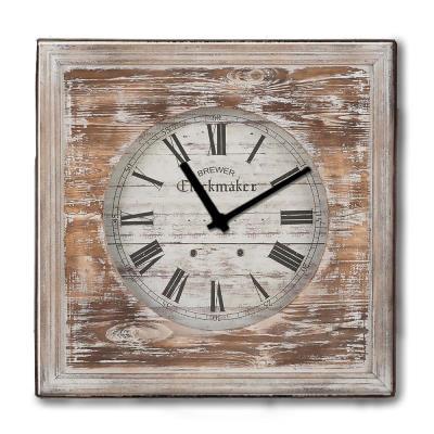 Rustic ξύλινο Ρολόι τοίχου The Clockmarket 48cm-60cm - L - 48 x 48 cm 79e3116a20d