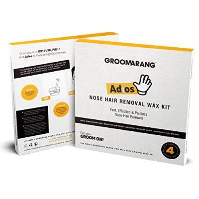 Σετ με Πέρλες Κεριού Αποτρίχωσης Μύτης για Άντρες - Groomarang Nose Hair  Removal c3d34f44a7c