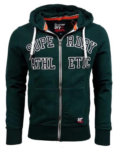9e5bf1193c64 Superdry - M20033TR X09 - Academy Sport Applique Zipthru - Academy Green -  Φούτε