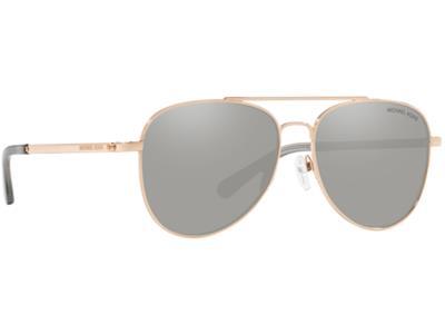 15413a41a0 Γυαλιά ηλίου Michael Kors San Diego MK 1045 1108 6G Ροζ Χρυσό Ασημί  Καθρέφτη (11