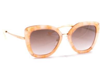 Γυαλιά ηλίου Ana Hickmann AH 3174 G23 Μπεζ Χρυσό Χρυσός Ντεγκραντέ Καθρέφτης  (G2 44e0e13d307