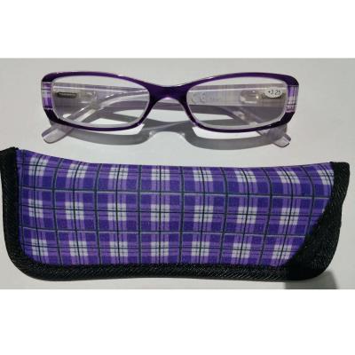 3036c284fd Γυαλιά Διαβάσματος Κοκκάλινα σε Μωβ Χρώμα με Ειδική Θήκη Φύλαξης - 3