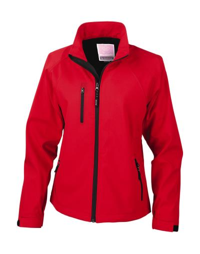 Γυναικείο Μπουφάν Softshell Base Layer Result R128F - Red 1c5e8c673d0
