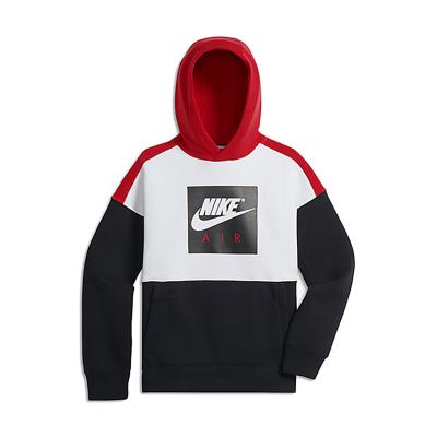 42707228a3f Nike B AIR HOODIE PO 892459-100 - WHITE/BLACK/UNIVERSITY RED/WHITE