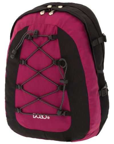 6957368ae8a Σχολική τσάντα POLO πλάτης OFFPIST ΦΟΥΞΙΑ 9-01-015-24