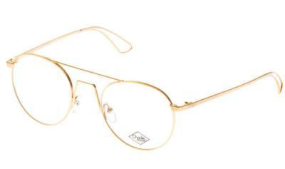aca79e3ab1 Eyeglasses Charlie Max CM SEMPIONE GS-G13 Unisex Gold Round