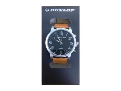 Dunlop Unisex Αναλογικό Ρολόι Χειρός με Μαύρο Καντράν 5c7900ba7ea