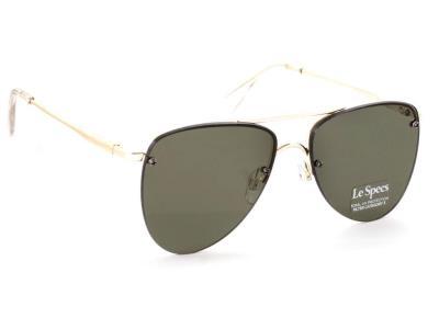 Γυαλιά ηλίου Le Specs The Prince Gold Khaki Χρυσό Πράσινος Πολυκαρβονικός  100% U 56ffb9ac10f