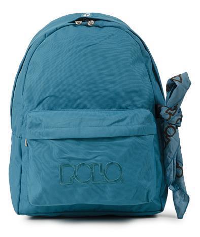 ca207857e1 Τσάντα Σχολική POLO με μαντήλι (τιρκουάζ) 9-01-135-20 POLO (9-01-135-20)