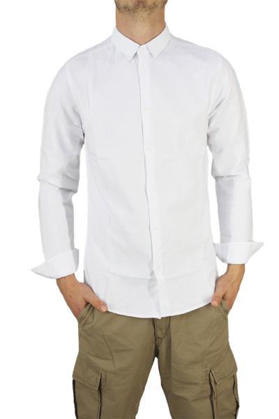 Anerkjendt ανδρικό πουκάμισο Pascal λευκό - 9216007-wh de6aa3d5cd6