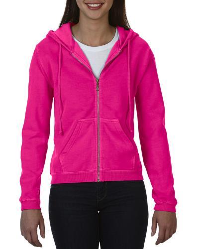 eca3c4a71b2f Γυναικεία Ζακέτα Φούτερ Comfort Colors 1598 - Neon Pink