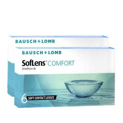 598fa43bfd Bausch   Lomb Soflens Comfort Μηνιαίοι Φακοί Επαφής (12 Φακοί)
