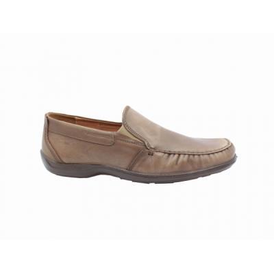 b Μοκασίνια δερμάτινα  b  ανατομικά ανδρικά παπούτσια Boxer 15308 πούρο.  BOXER- dcd3519fa37