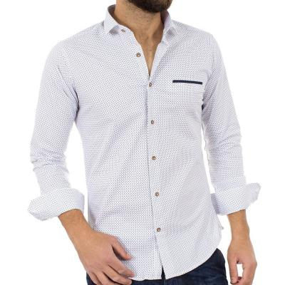 31205681e22 ανδρικά ασπρο μακρυμανικα endeson fashion - Totos.gr