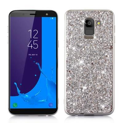 Samsung Galaxy J6 2018 Case Quicksand Liquid Glitter Stars Crystal Case  Cover S 668d1932416