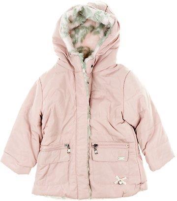 Εβίτα παιδικό μπουφάν διπλής όψης «Forever Pink» e32903ed134
