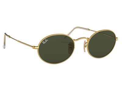 Γυαλιά ηλίου Ray-Ban RB 3547 001 31 Oval Χρυσό Γκρι Πράσινος (001 31)  Κρύσταλλο 898b8920f5e