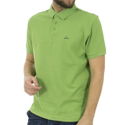 76a4d940aa65 Ανδρικό Κοντομάνικο Μπλούζακι με Γιακά Polo BATTERY 101001581 ανοιχτό  Πράσινο