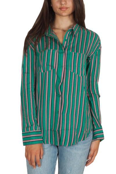 86c3560137fc Daisy Street ριγέ πουκάμισο πράσινο - nbt-827