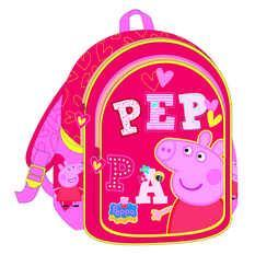 8451ac32a6 Τσάντα σχολική νηπίου 27x31x10 Peppa Pig 0482333