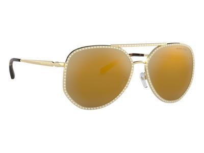 Γυαλιά ηλίου Michael Kors Miami MK 1039B 10147P Γυαλιστερό Χρυσό Χρυσός  Καθρέφτη 10c169f3573