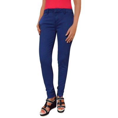 33d131e86 Παντελόνι Γυναικείο | Υφασμάτινο | Skinny | Chino | Μπλέ Tommy Hilfiger