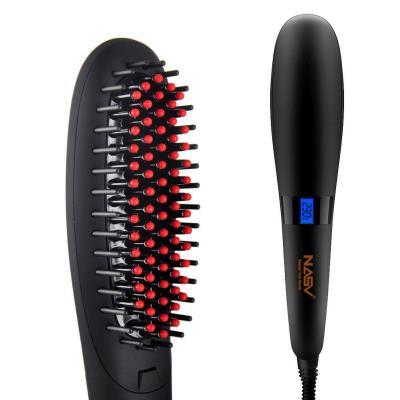 Θερμαινόμενη βούρτσα ισιώματος μαλλιών με οθόνη LCD 7f35f50d4d2