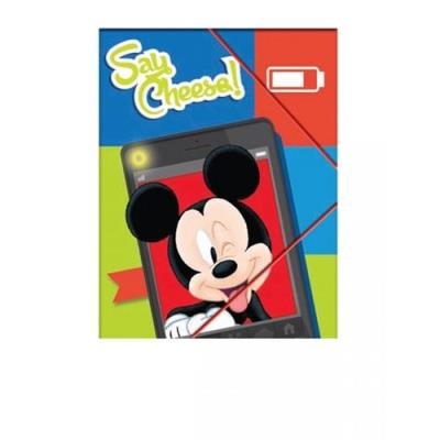 3f6c5ceba51 Ντοσιέ Mickey A4 Με Λάστιχο (340-73515)