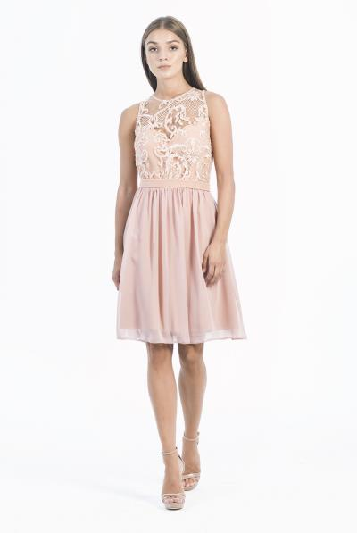 aa3d71431f86 dantela φορεματα ροζ - Totos.gr