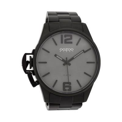 OOZOO OSGR18 Steel XXL Black Stainless Steel Bracelet 65dab1f79fc