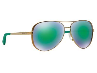 Γυαλιά ηλίου Michael Kors MK 5004 Chelsea 10043R Χρυσό Πράσινος Καθρέφτης  (10043 7a9998c4859