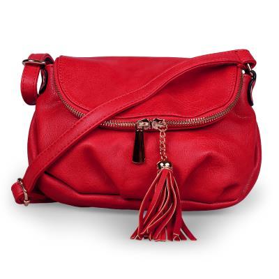 Γυναικείο τσαντάκι χιαστί - Κόκκινο - OEM 50620 f99c65cb6e3