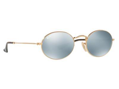 Γυαλιά ηλίου Ray-Ban Oval Metal RB 3547N 001 30 Χρυσό Ασημί Καθρέφτης  (001 30) Κ 6a0194093d